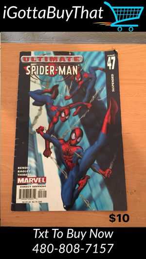 The Ultimate Spider Man Comic book Issue 47 for Sale in Tempe, AZ