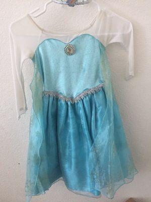 Beautiful costume dress Elsa for Sale in Carlsbad, CA