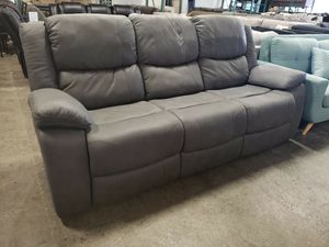 Display model special reclining sofa tax included free delivery for Sale in Hayward, CA