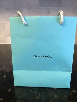 SMALL TIFFANY GIFT BAG for Sale in Fort Lee, NJ