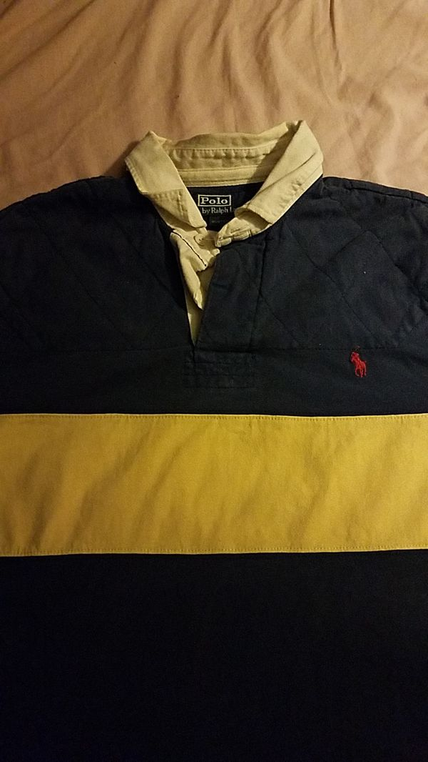 Ralph lauren long sleeved polo size large