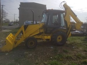 Case 580K backhoe 4x4 heated with extend a hoe and trailer for Sale in UPPR CHICHSTR, PA