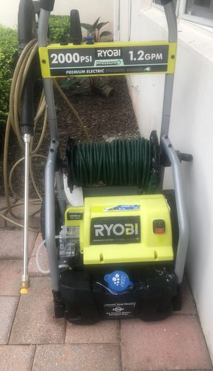 Ryobi pressure washer 2000 PSI 1.2 GOM electric for Sale in Miami, FL