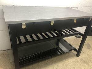 Stainless Steel Kitchen Island for Sale in Brooklyn, NY