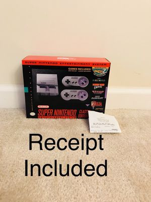 Brand new in box- Nintendo SNES ( Super Nintendo Entertainment system) for Sale in Canton, MI