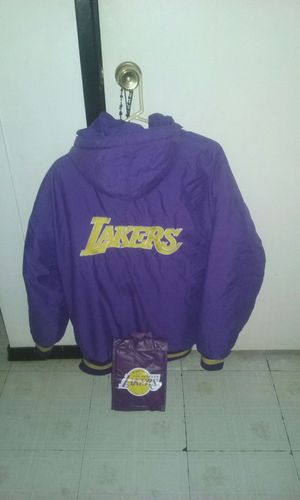 Lakers coat and cooler lunch bag for Sale in Las Vegas, NV