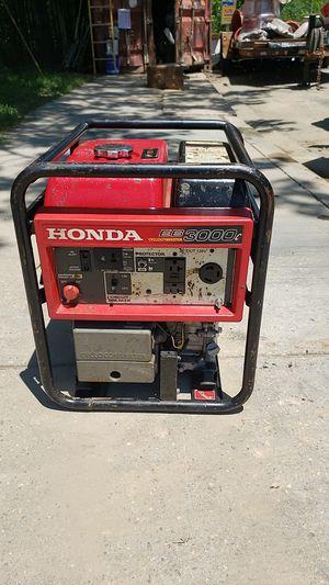 Honda generator eb cycloconverter 3000c for Sale in Woodbridge, VA