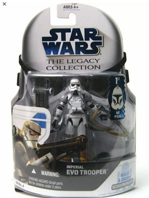 Star Wars - Imperial EVO Trooper - 1st Day Issue - Hasbro - Disney - Mint Condition - Legacy Collection - Brand New - Exclusive Toys for Sale in Hawthorne, CA