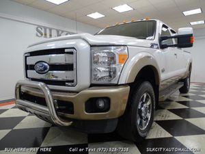 2011 Ford F-350 Super Duty King Ranch Diesel Camera for Sale in Paterson, NJ