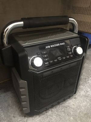 $70 Good Condition Ion Job rocket Max water resistant bluetooth speaker radio rechargeable battery microphone outdoor beach camping for Sale in El Monte, CA