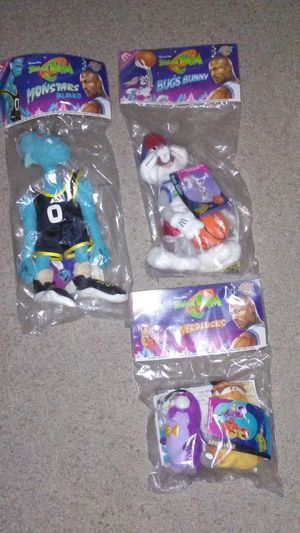 Space Jam Looney Tunes plush toy collectibles for Sale in Cleveland, OH
