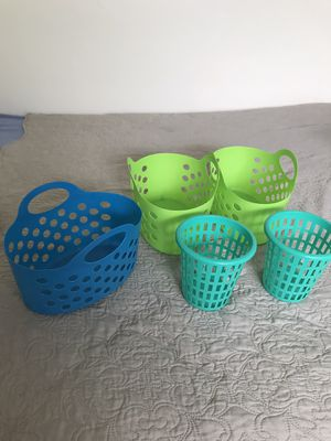 Storage containers: $4 for all !! for Sale in Fort Lauderdale, FL