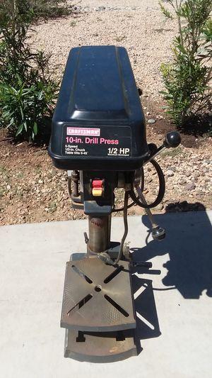 "Craftsman 10"" Drill Press for Sale in Avondale, AZ"