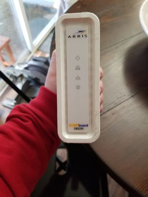 Asus router and arris motem for Sale in Yelm, WA