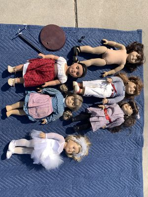 Set of 6 Authentic American Girl Dolls for Sale in Thousand Oaks, CA