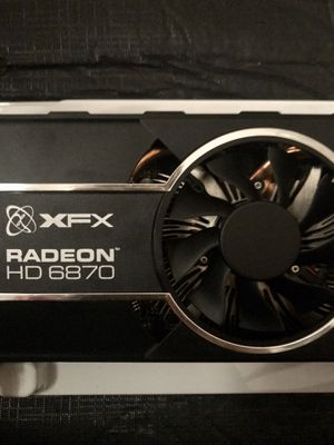 Radeon XFX HD 6870 Graphics Card for Sale in Austin, TX