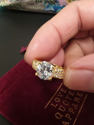Beautiful GP Cubic Zirconia Ring for Sale in The Bronx, NY