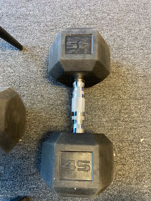 45LB dumbbell for Sale in Chino, CA