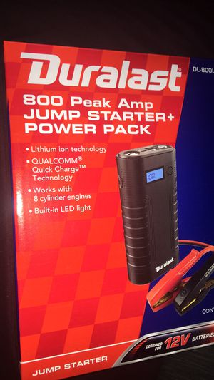 800 peak jump start power pack for Sale in Columbus, OH