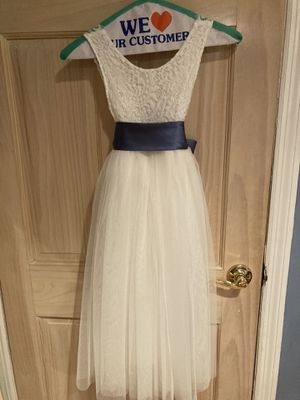 Flower girl dresses(2)- Size 5 and 12-18 months for Sale in Massapequa, NY