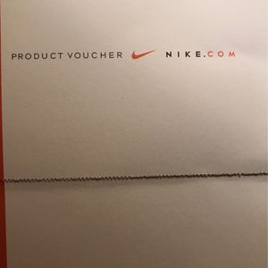Nike Product Voucher for Sale in Anaheim, CA