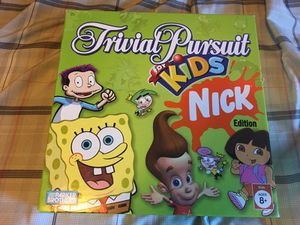 Trivial Pursuit for Kids--NICK Edition for Sale in Littleton, CO