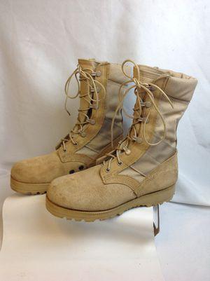 US Military Men's Sz 5 Army Hot Weather Jungle Desert Combat Boots Vibram for Sale in Largo, FL