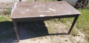 "5 Ft X 30"" STEEL TABLE/DESK for Sale in Greenville, SC"