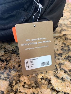 Patagonia Paxat Pack 32L Black. for Sale in Atherton, CA
