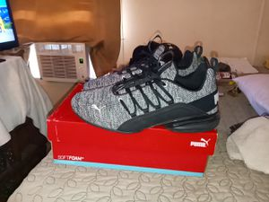 Pretty much brand new only worn 3 time sz 12 puma alexion shoe for Sale in Huron Charter Township, MI