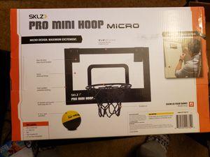 SKLZ pro mini basketball hoop for Sale in Portsmouth, VA