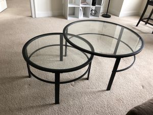 Round Glass Coffee Table for Sale in Washington, DC