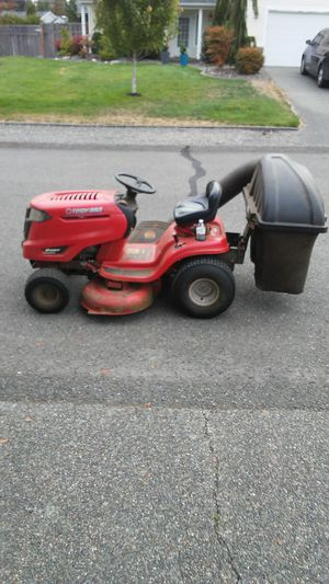 Troy bilt ,Lawn tractor,tuffy pony,2013 works excellent,but I have a small back yard so I don't need it anymore. for Sale in Bonney Lake, WA