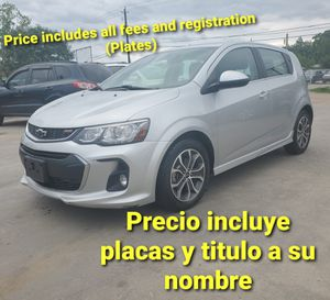2018 Chevy sonic for Sale in Houston, TX