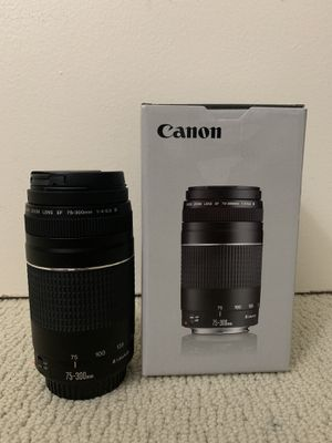 Canon Lens 75-300mm for Sale in Torrance, CA