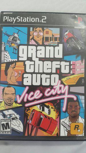 GRAND THEFT AUTO VICE CITY FOR PS2 for Sale in Miami Gardens, FL
