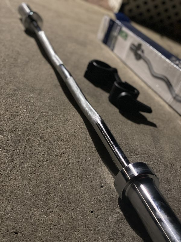 Olympic Curl Bar - BRAND NEW