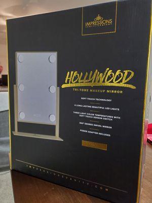 Impressions Vanity Hollywood Tri-Tone Makeup Mirror for Sale in Atlanta, GA