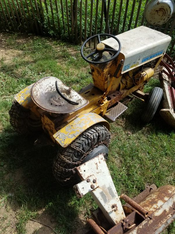 Late 60s Cub Cadet 102 Sold