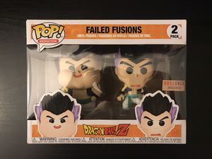 Dragon Ball Z Funko Pop! Failed Fusions 2 Pack Box Lunch Exclusive, SHOOT ME AN OFFER! for Sale in Chula Vista, CA