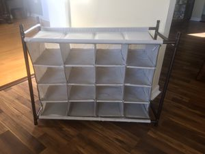 Shoe Rack Organizer for Sale in Bolingbrook, IL