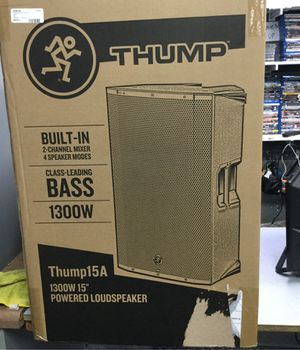 Thump 15a powered speaker for Sale in Chicago, IL