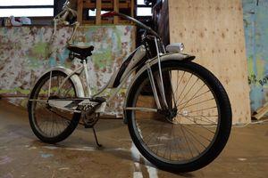 1950s original paint barnfind western flyer/Murray antique vintage cruiser bike for Sale in Boring, OR