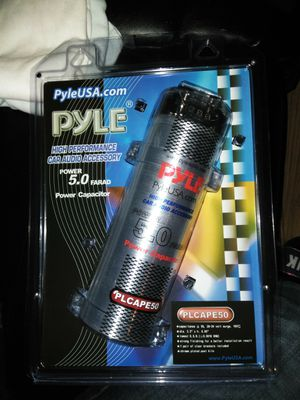 Pyle 5.0 FARAD POWER CAPACITOR for Sale in Baltimore, MD