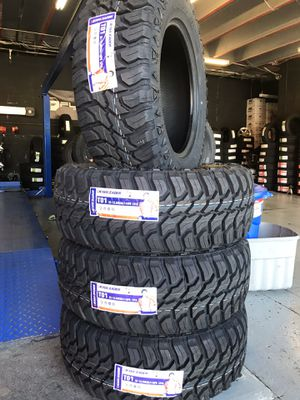 35x12.50r20 New set of MT tires installed for Sale in Rancho Cucamonga, CA