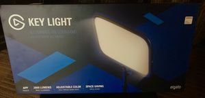 Elgato Key Light with adjustable 4 ft mount for Sale in Addison, TX