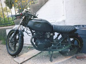 1978 Honda CBR Black Cafe Racer Motorcycle for Sale in Queens, NY