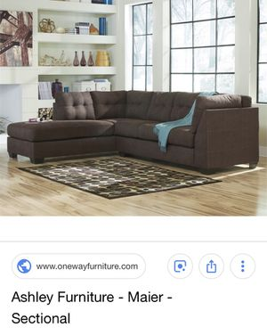 Ashley's sectional sofa bed for Sale for sale  Bloomfield, NJ