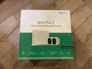 Wireless 2 camera security system for Sale in Dallas, TX