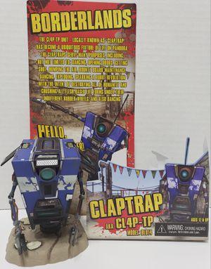 Borderlands - Claptrap CL4P-TP collectible figure for Sale in Glendale, AZ
